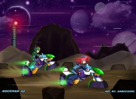 MMX2: Race to Reploid Factory by Shinobi-Gambu