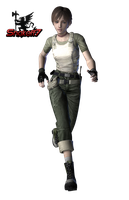 Rebecca Chambers - Render 2 by snakeff7