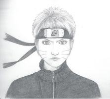 Naruto (realistic) by theFudgy94