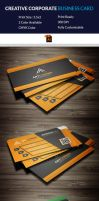 Business Card Template (Free Download) by Arahimdesign