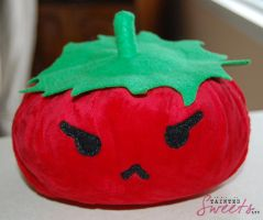 angry tomato by danger0usangel03