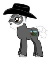 Terry pratchett mlp by kaoshoneybun