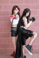 Tifa - Ready to fight! by AerithStrife90