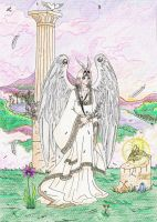 Successus, Angel of New Moon by Zephind