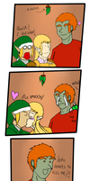Ganny Under the Mistletoe by ChaosDisclosed