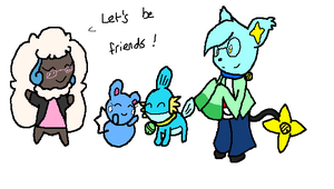 PKMN-C: Let's be friends! by Cocoafox895