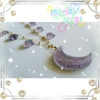 Magica Moon Pendant Eclipse by moonkittyproductions