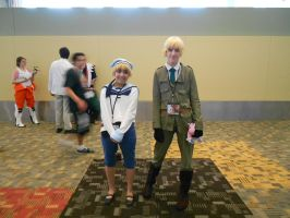 Otakon 2012 - Sealand and England [Hetalia] by Angel1224