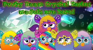 Furby Boom Crystal Series Models Released! by FFGOfficial