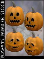 Jack O'Lanterns 012 by poserfan-stock