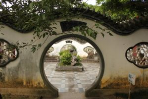 Chinese garden by rayna23