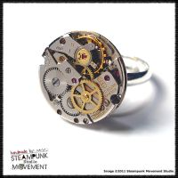 Steampunk Ring 5 by SoulCatcher06