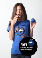 :O Emoticon Tee by deviantARTGear