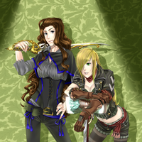 Fable 3: Kaylee and Felicity by Inupii
