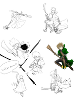 ZA: Quidditch practice by Alivewhenever