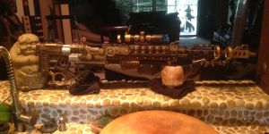 Steampunk Sniper Rifle Solo Shot Righty by MauruCat