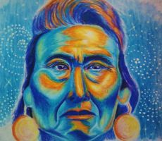 chief joseph sketch by hatterfox