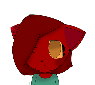 I is a red muffin (art trade) by PeaceSignCat