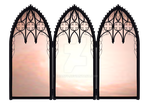 Gothic Mirrors1-Stock prop by BrianFP