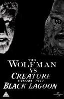 The Wolfman vs. Creature from the Black Lagoon by SteveIrwinFan96