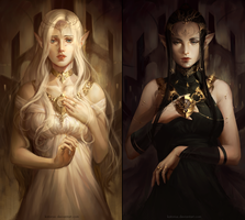 The Balance of Light and Darkness by katorius