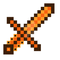 Topaz Gem Sword Minecraft For Mike by TaintedVampire