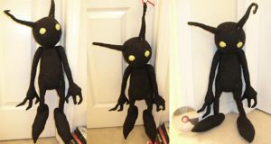 Shadow Heartless Plushi by Kweh-chan