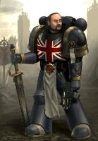 TotalBiscuit Spacemarine by Deadmeat1555