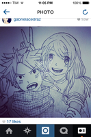 Natsu and lucy by Musical--Panda