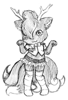 Free Sketch #7 ~ for IreinicFantasy by LinYan