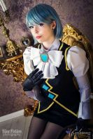 Phoenix Wright Ace Attorney: Franziska Cosplay by AllThatsCosplay