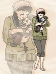 HSV Solo Mission: Mommy and Baby fashion by yinyangswings