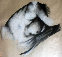 Life Drawing by CommanderEVE