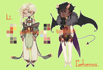 Li + Gehenna Adoptables [CLOSED] by Po-Lar