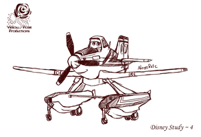 Disney Study # 4 - Planes by Aileen-Rose