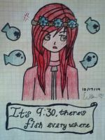 ~Flower Crowns and Fish~ by EliXSora4Evr