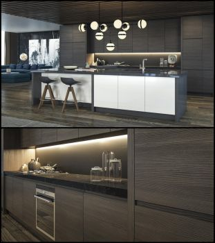 Kitchen Series -06 by kulayan3d