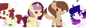 Chibi Friends by Starla-Stroke94