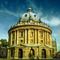 Radcliffe Camera Library II by tt83x