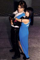 Rinoa and Leon cosplay by Eyes-0n-Me