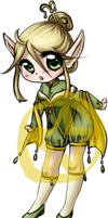Offer to Adopt: Elf Girl by Mifmemo