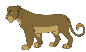 Lioness Adopt Full Body for UnikLion by AnimeFan4Eternity23
