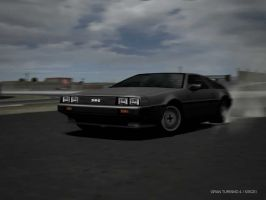 DeLorean DMC 12 Drift by Street-Racer