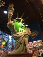 M AND M Statue of liberty by Mike-The-Winner