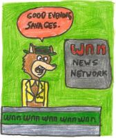 Mildew Wolf, newscaster by dth1971