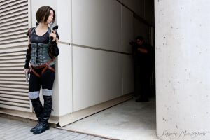Alice and USS - Resident Evil: Afterlife by Rush90