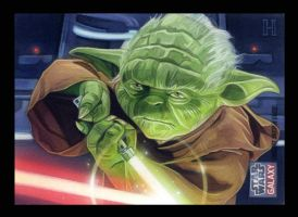 Yoda Galaxy 7 by roberthendrickson