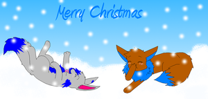 .:Merry Xmas Onewholostthehope by EeveeL