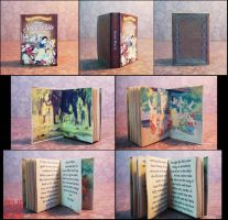 Snow white miniature book by sakyachan