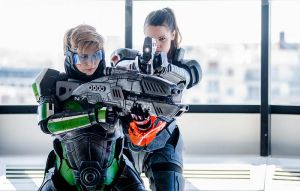 Mass Effect - Femshep by LaraDrake-Cosplay